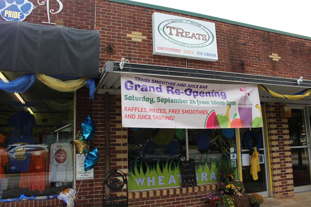 TReats is located at 305 S. Main St. in Travelers Rest.