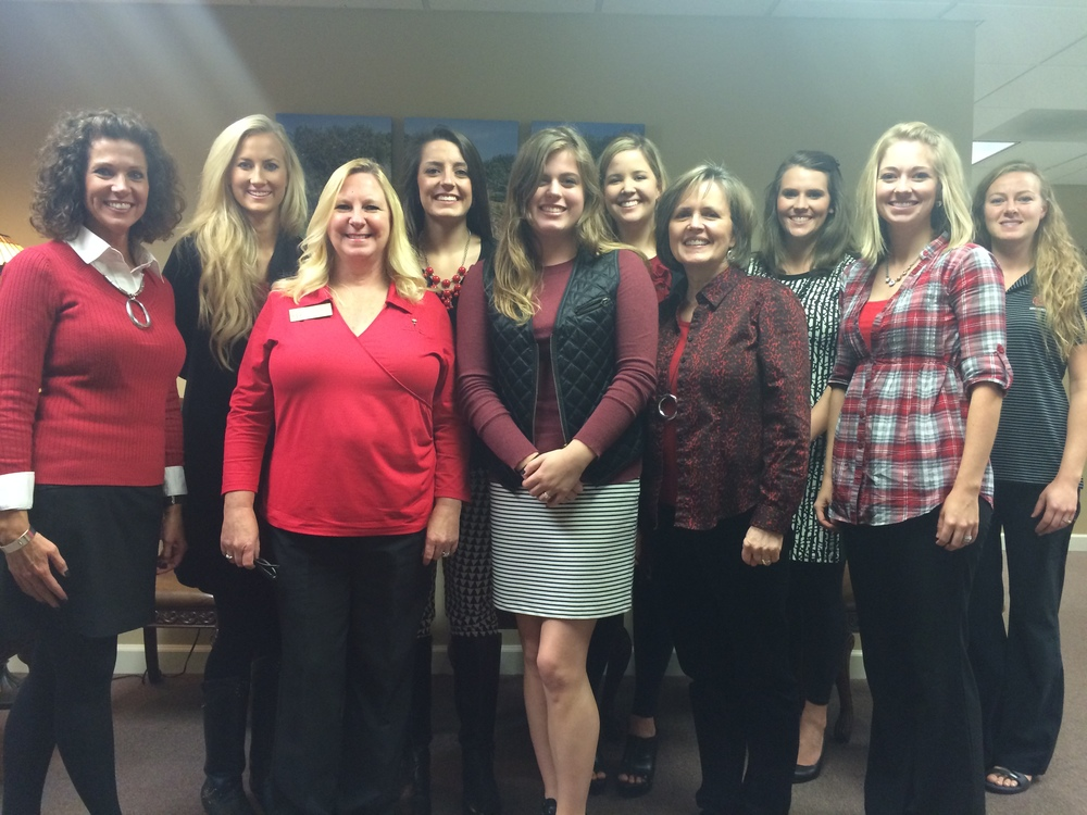 The Admissions Staff supports Red and Black Fridays.