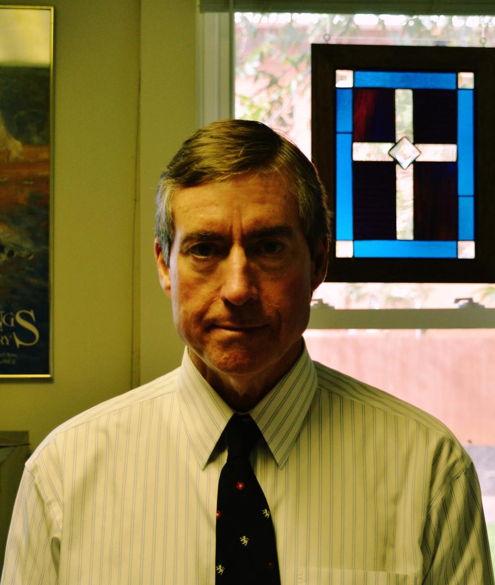 NGU Political Science Department Chair, David Tyner