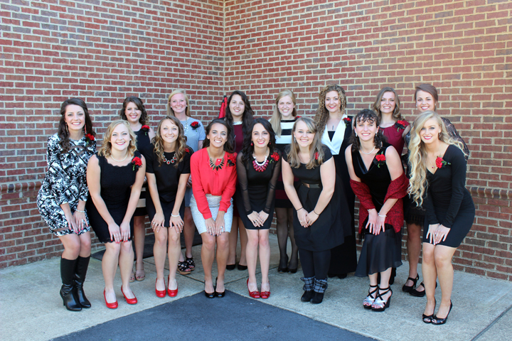 The 2015 homecoming court included Hannah Mashburn, Jenna Thomas, Kathryn Allen, Taylor Rogers, Valerie Bostick, Rebekah Wille, Sara Brunson, Katie Jones, Leah Harrelson, Christie Reilly, Sarah Deane, Helen Martin, Anna Shoop, Nicole Case and Brittany Pigg.