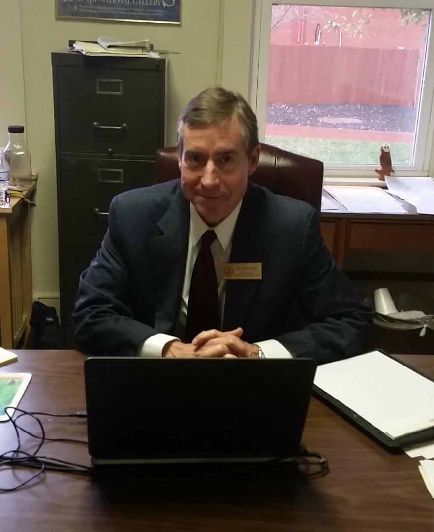David Tyner, North Greenville Political Science professor.