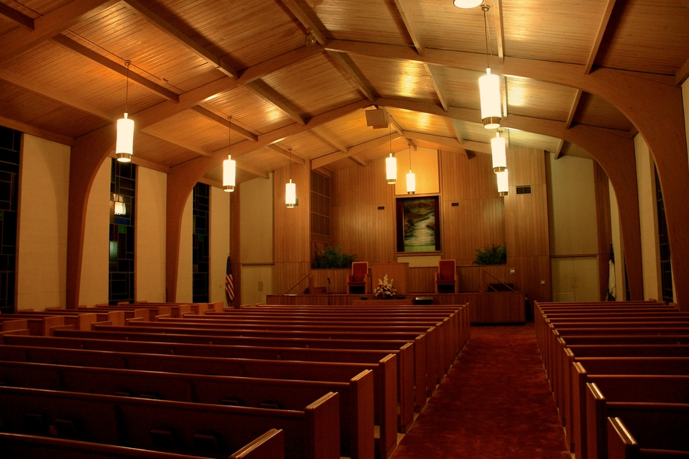 Tigerville Baptist Church, location of the Men's Conference