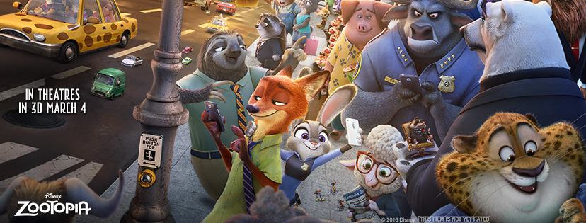 Photo courtesy of the official  Zootopia  Facebook page.