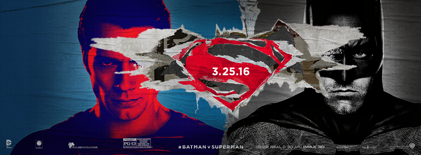 Photo courtesy of official  Batman vs. Superman  Facebook page.