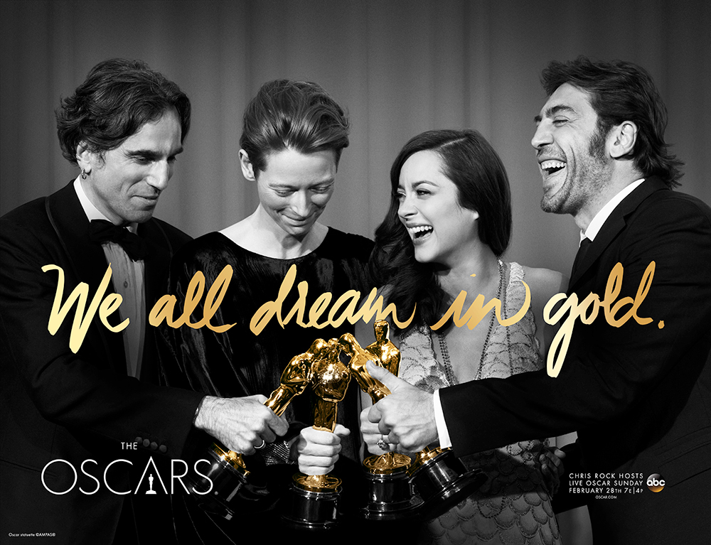 The Oscars is under fire for lack of diversity among nominations. (photo courtesy of oscar.go.com)