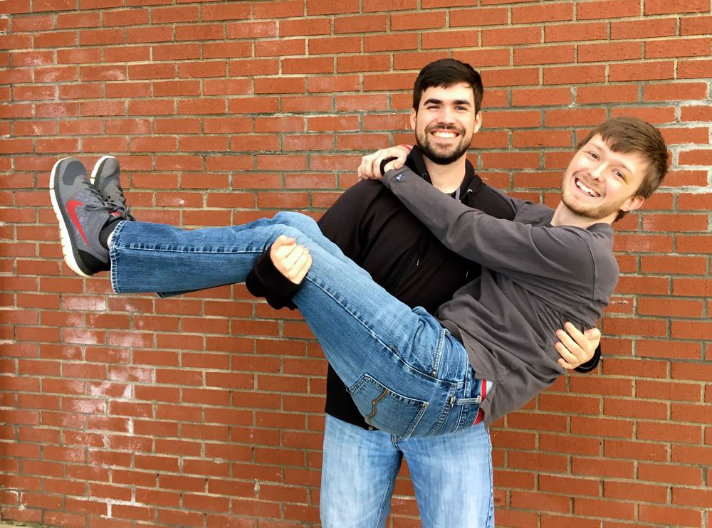 Dylan Baxter and Matt Hall are roommates and this week's chapel speakers.