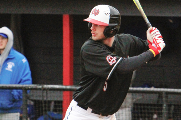 North Greenville University's Andrew Frazier. CREDIT:  ngcrusaders.com