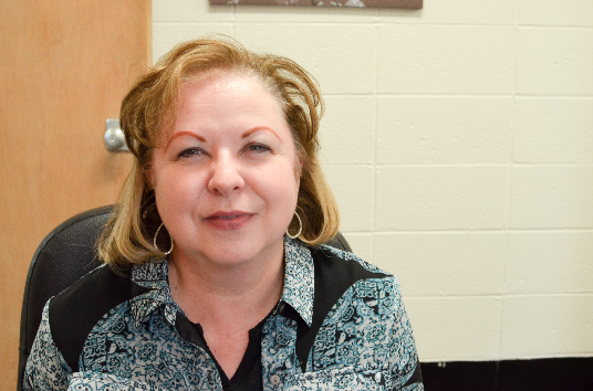Sandie Sparks, Business Office: Well we like to stand up and put our hands on our hearts for the national anthem!