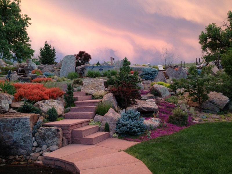 Prarie Boulder Garden