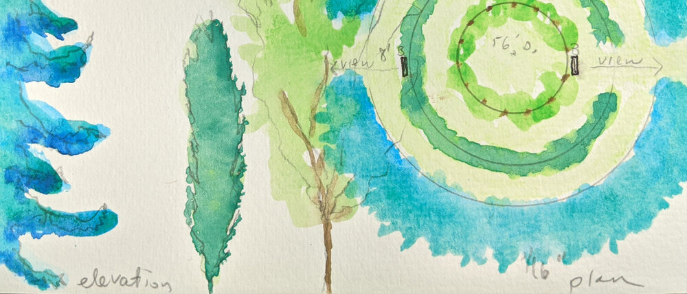 A landscape artist