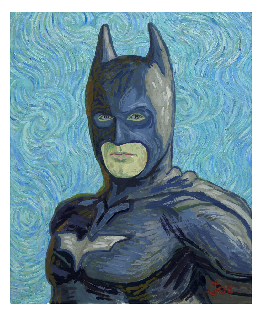 BATMAN, VAN GOGH STYLE  Esquire Magazine