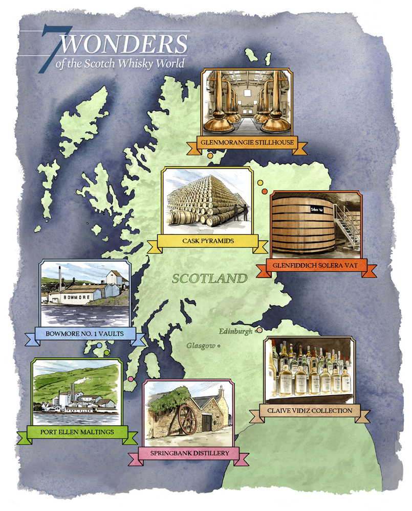 WONDERS OF THE SCOTCH WHISKY WORLD  Whisky Advocate Spring 2014