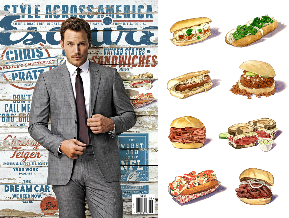 UNITED STATES OF SANDWICHES  Esquire, September 2014