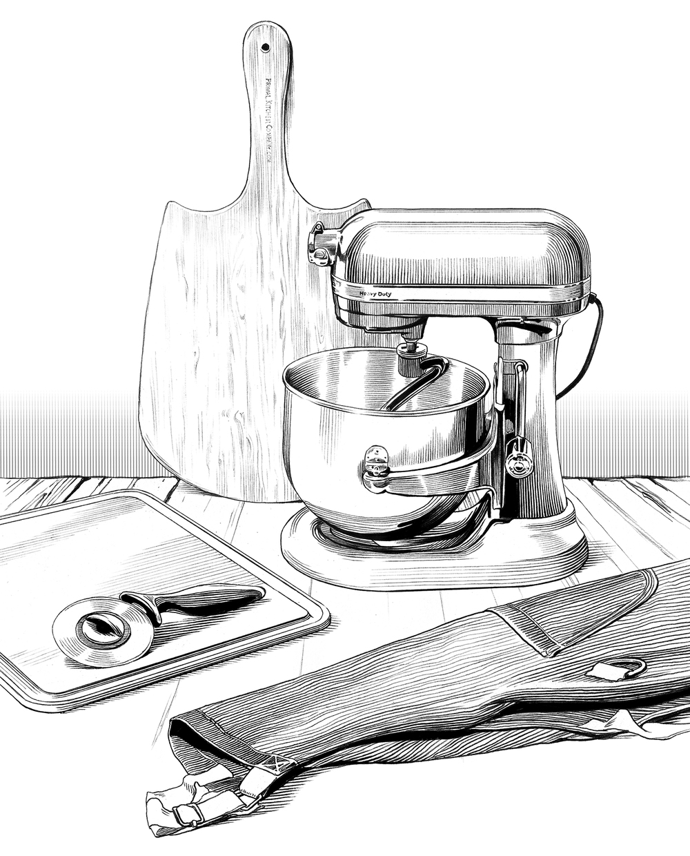 PIZZA MAKING TOOLS  Wired, November 2015