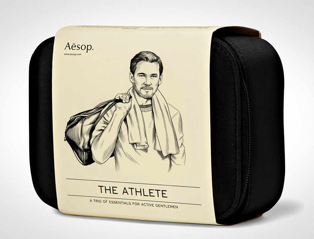 AESOP  Dopp kit for men