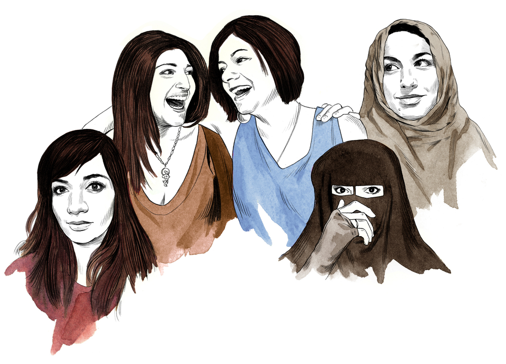 MUSLIM WOMEN SPEAK OUT  Wired Magazine, December 2016