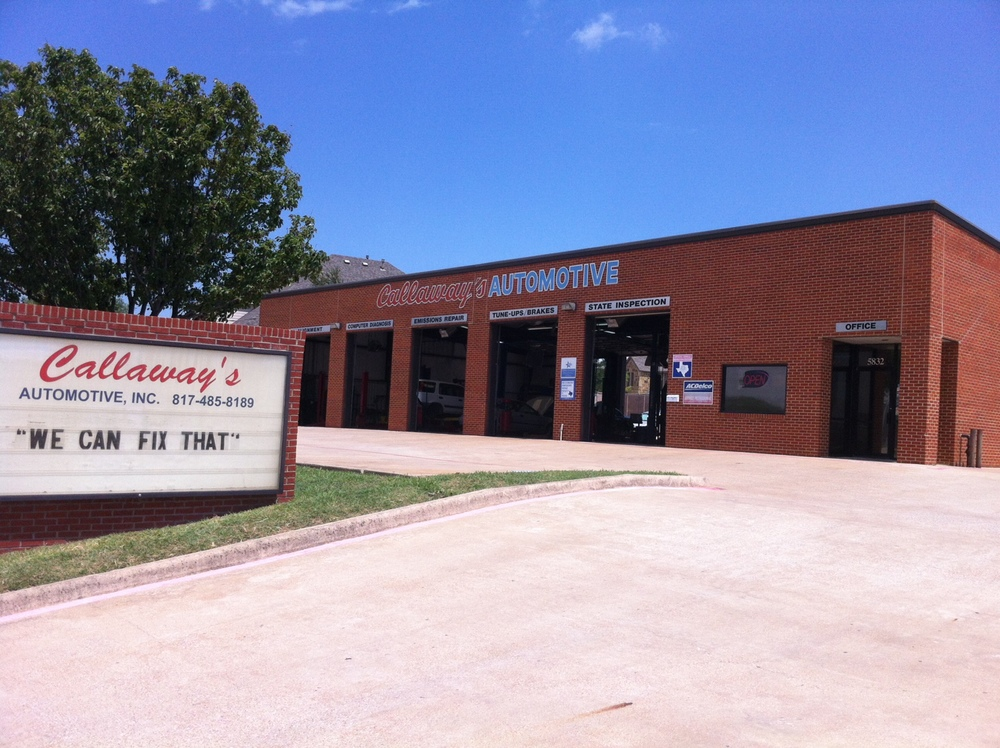 Most domestic and foreign brands serviced at Callaway's Automotive.