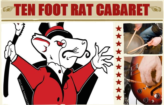 Ten Foot Rat Cabaret - Sketch Team In Residency Oct 2014 - Dec 2014