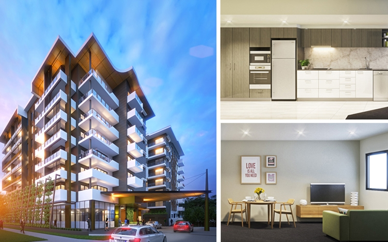 Off the plan apartments Chermside Brisbane