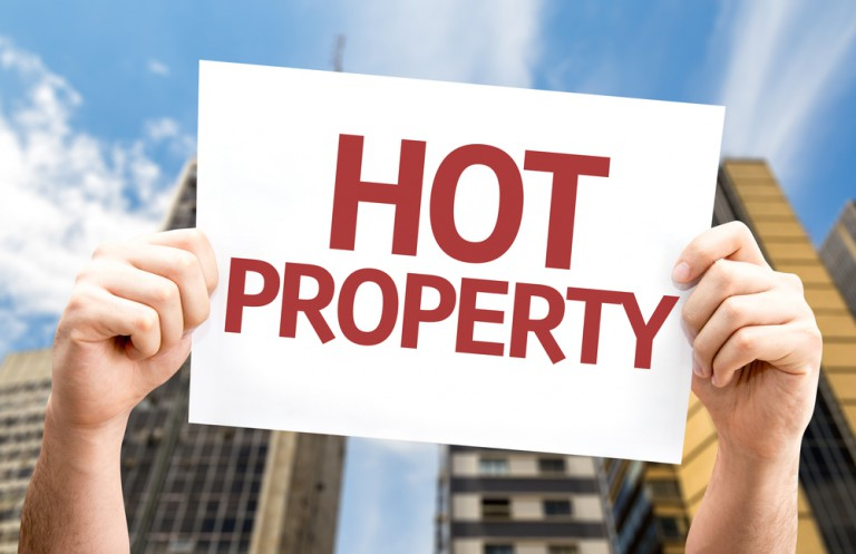 hot property sign