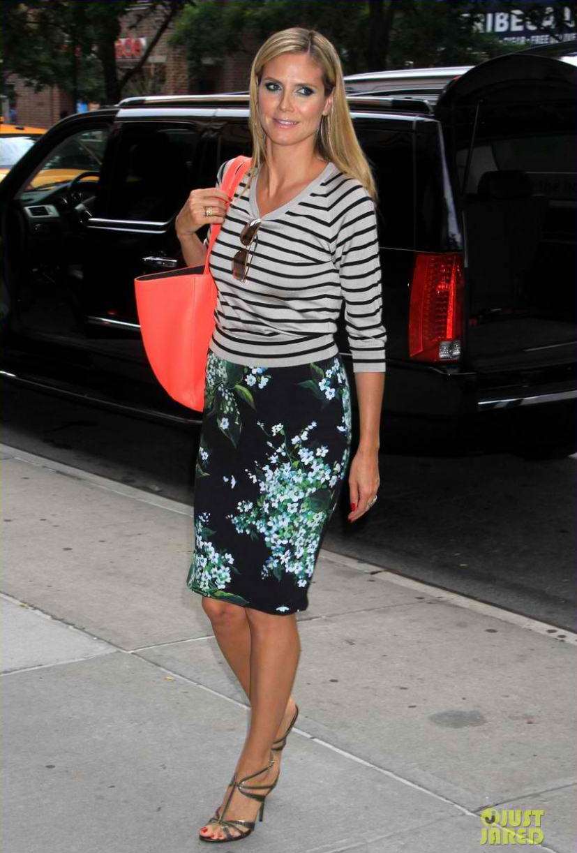 Heidi Klum, photo via justjared