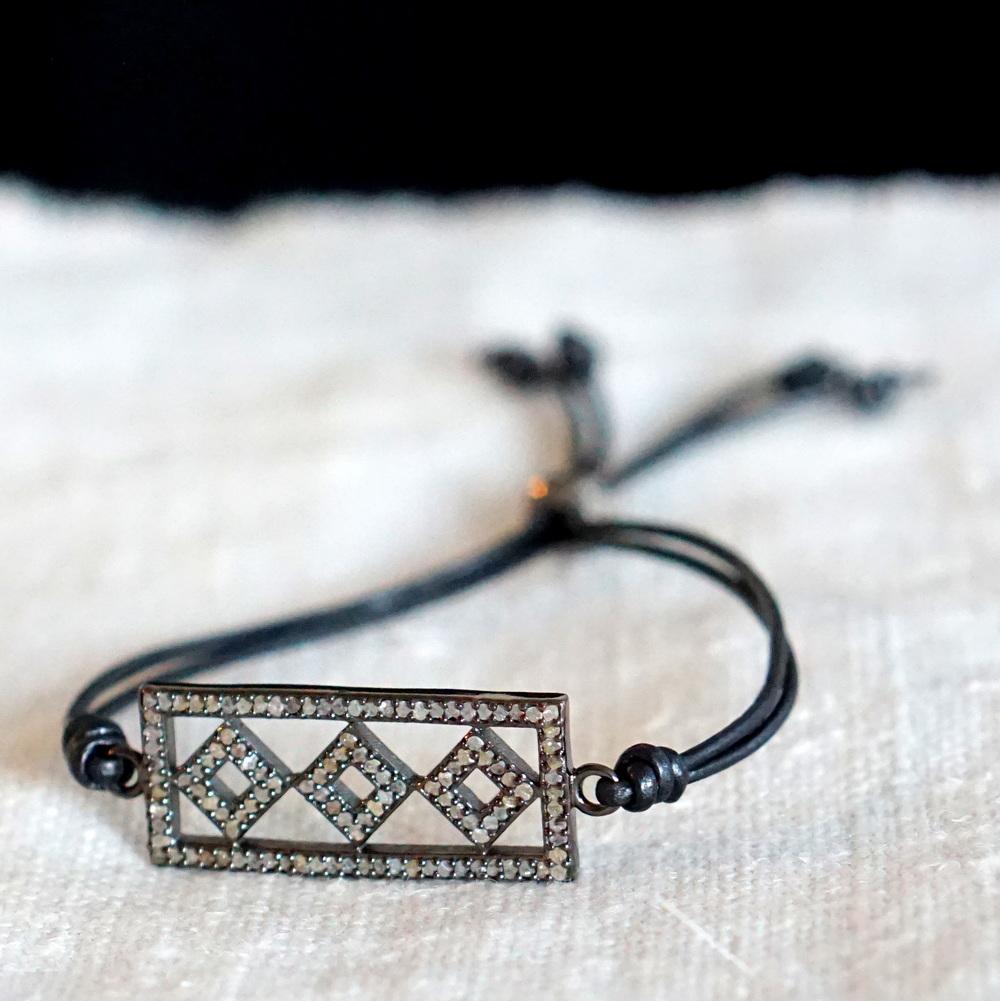 Designs by Alina Diamond bracelet