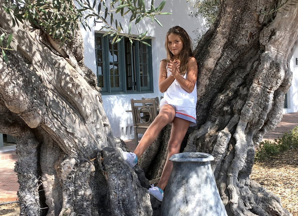 "Tessalina in her ""Dreamer's Garden"""