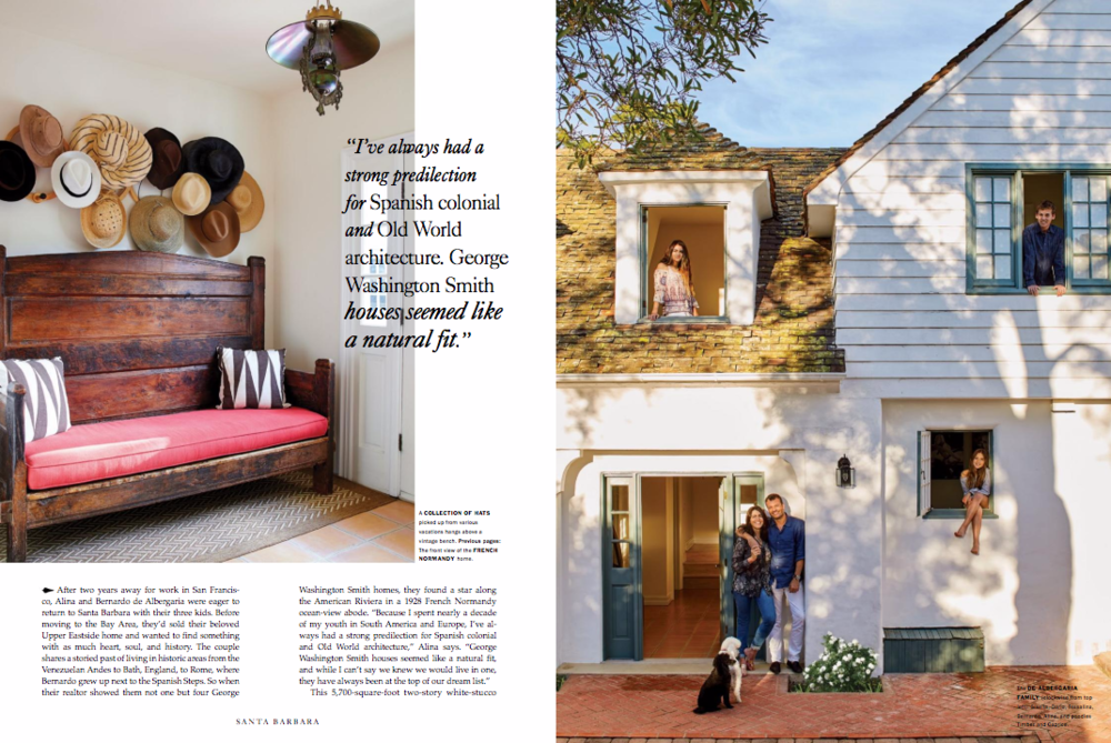 Santa Barbara Magazine Jewelry Designer Alina de Albergaria Designs by Alina