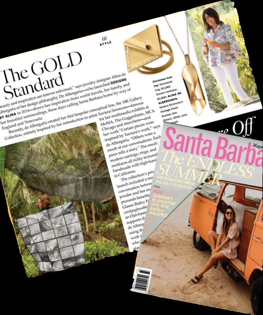 Santa Barbara Magazine Jewelry