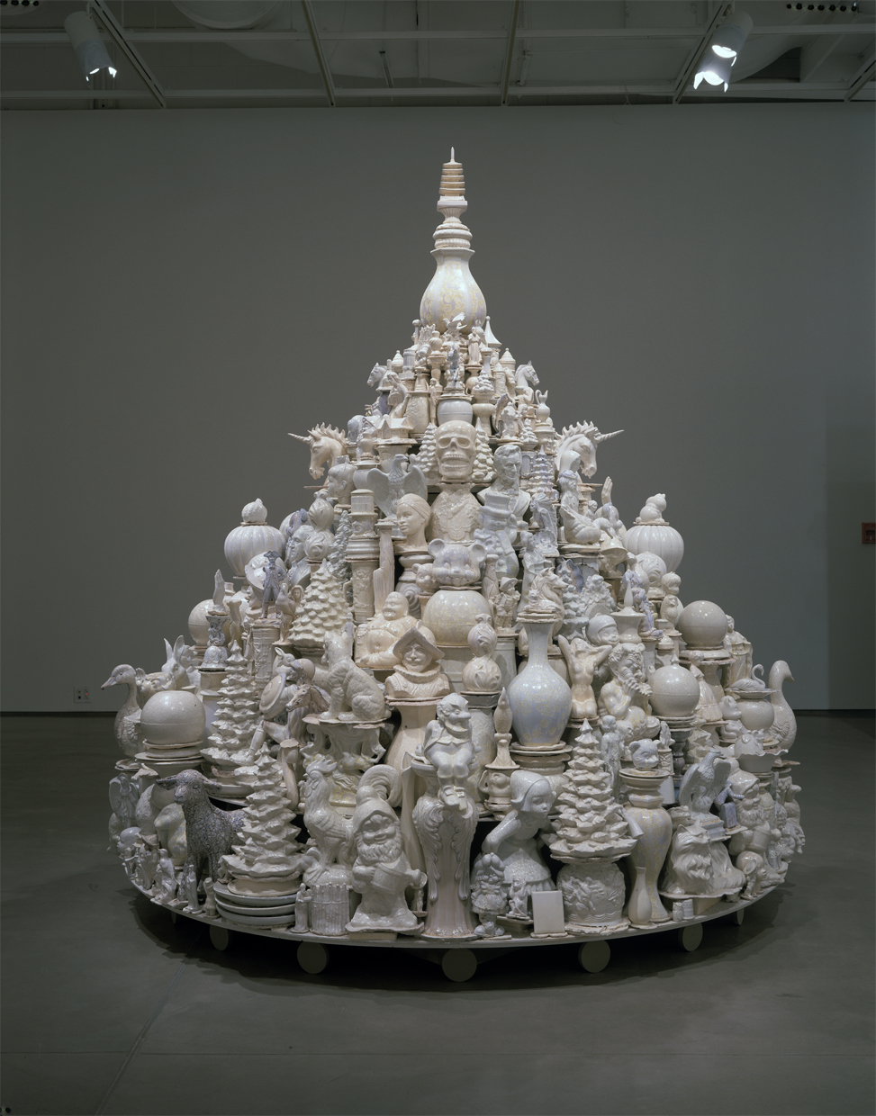 A Theory of Everything: White Stupa, 2007