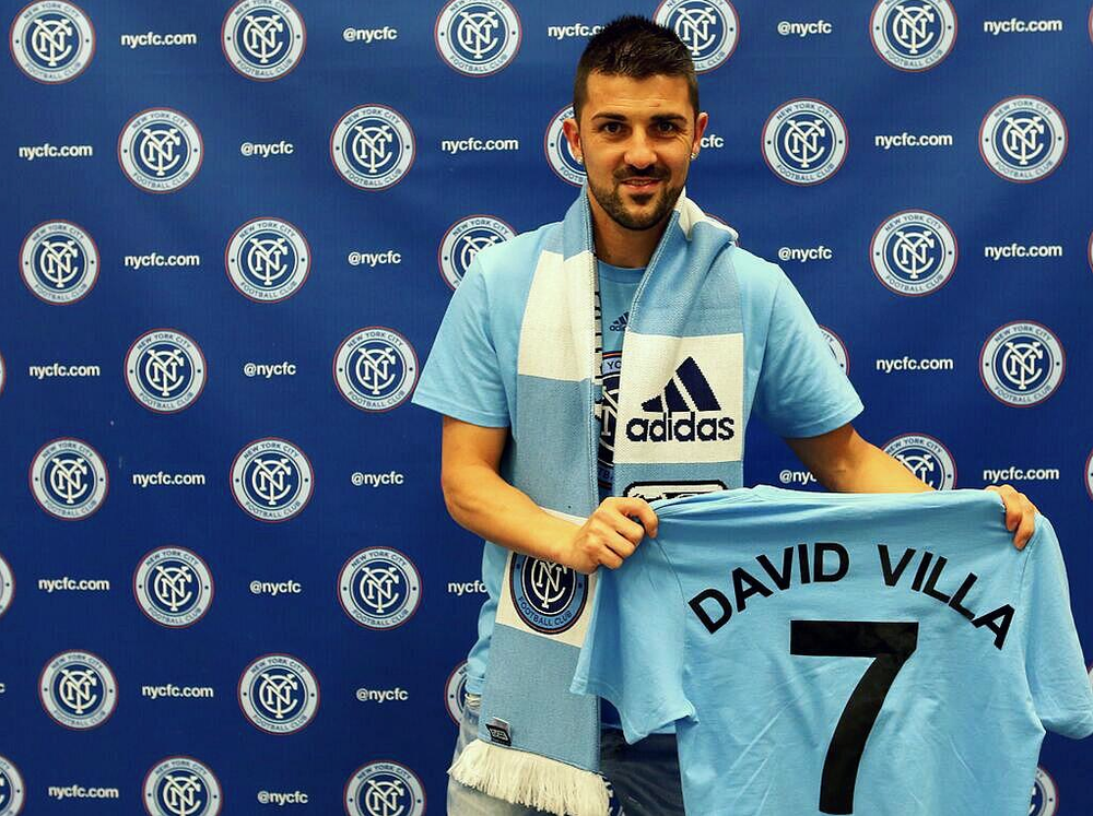 David Villa Signs For NYCFC