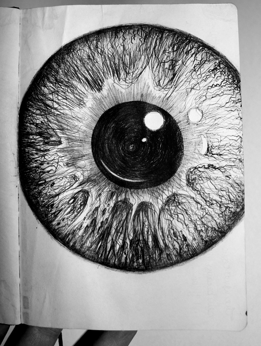 My Eye In The Mirror - by Aidy Brooks