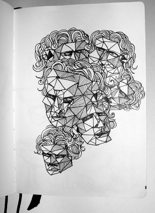 Drawing Moving Faces - by Aidy Brooks