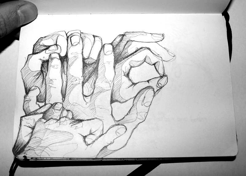 Shapes Of My Hand - by Aidy Brooks