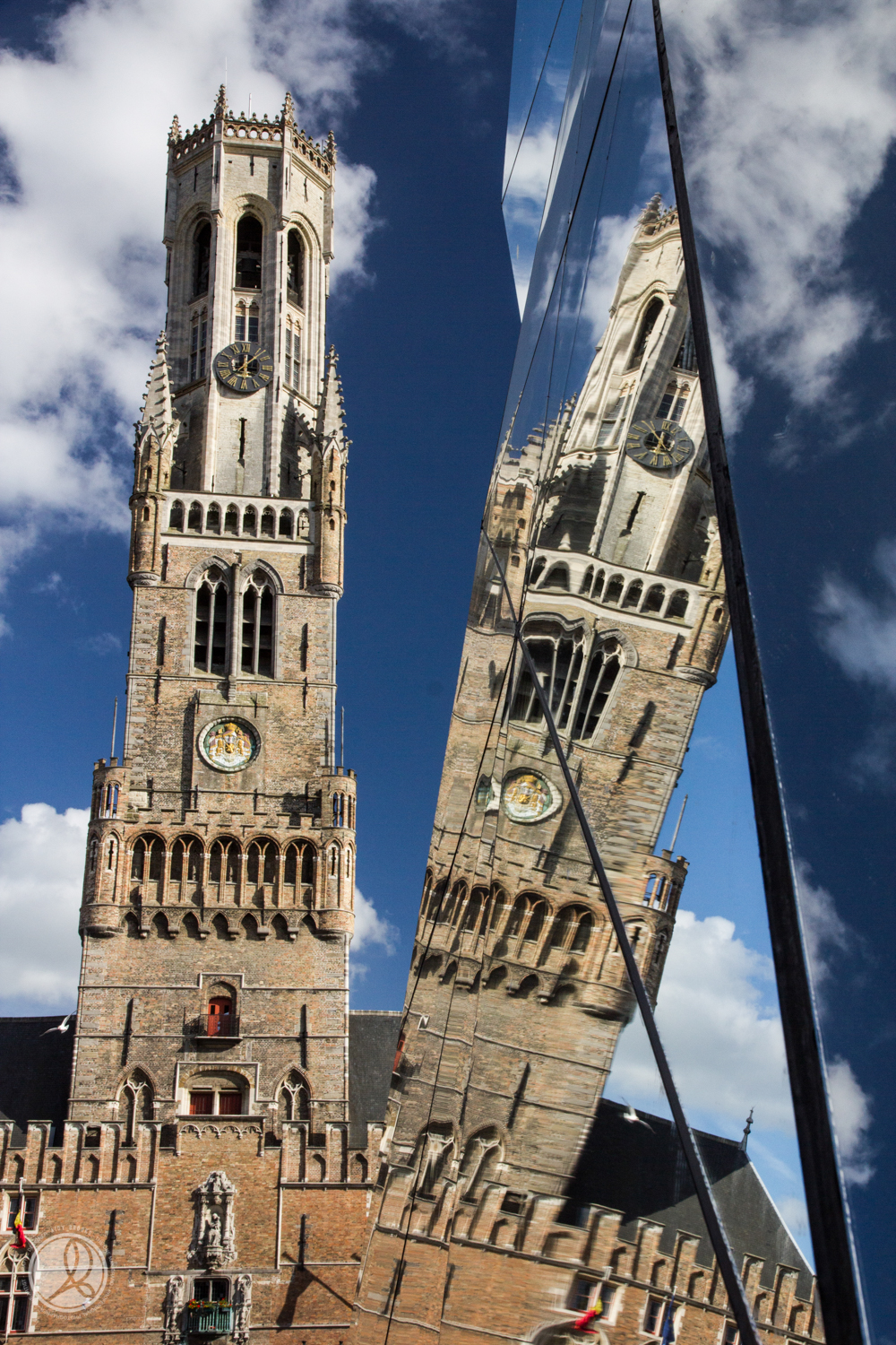 Bruge Cathederal - by Aidy Brooks