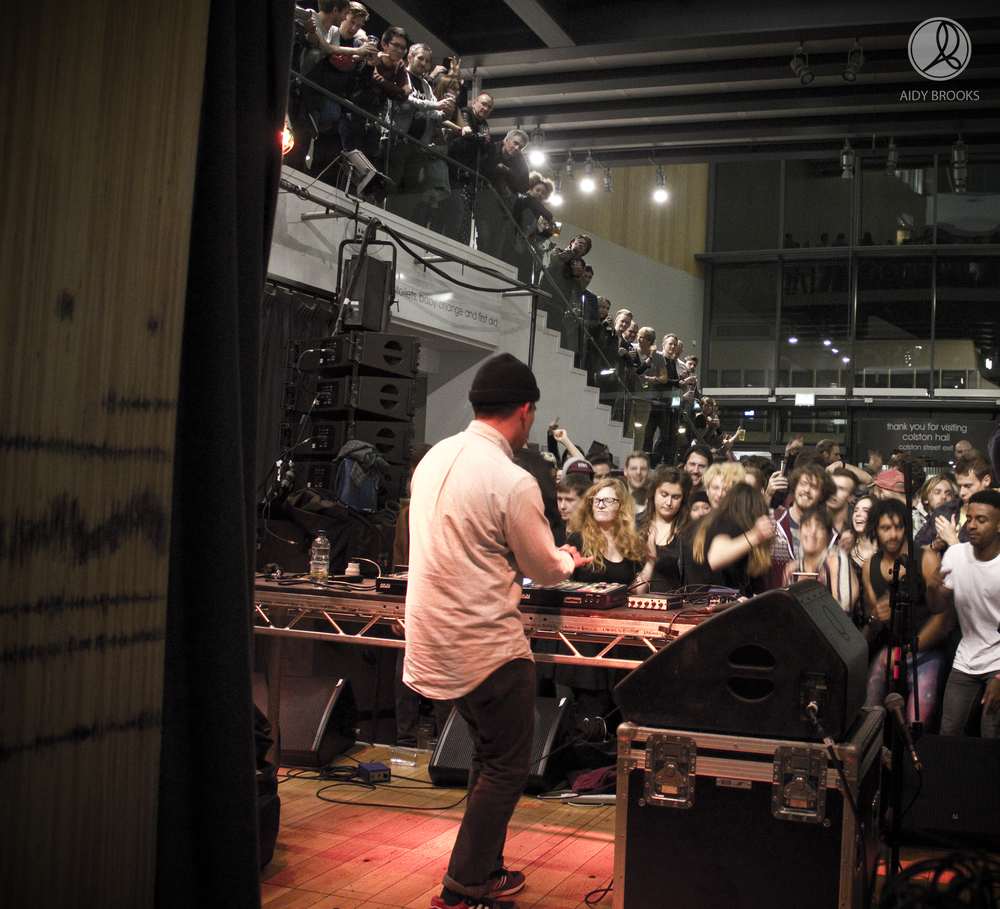 Onra (behind) at Simple Things Festival 2014