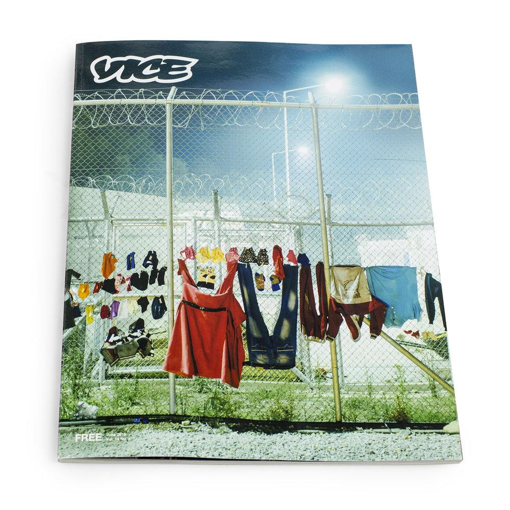 Vice Magazine - Minirig Advert - by Aidy Brooks