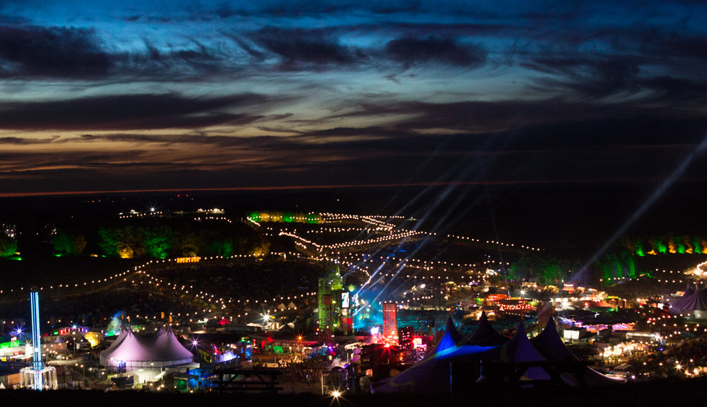 Boomtown 2016 - Downtown at Night