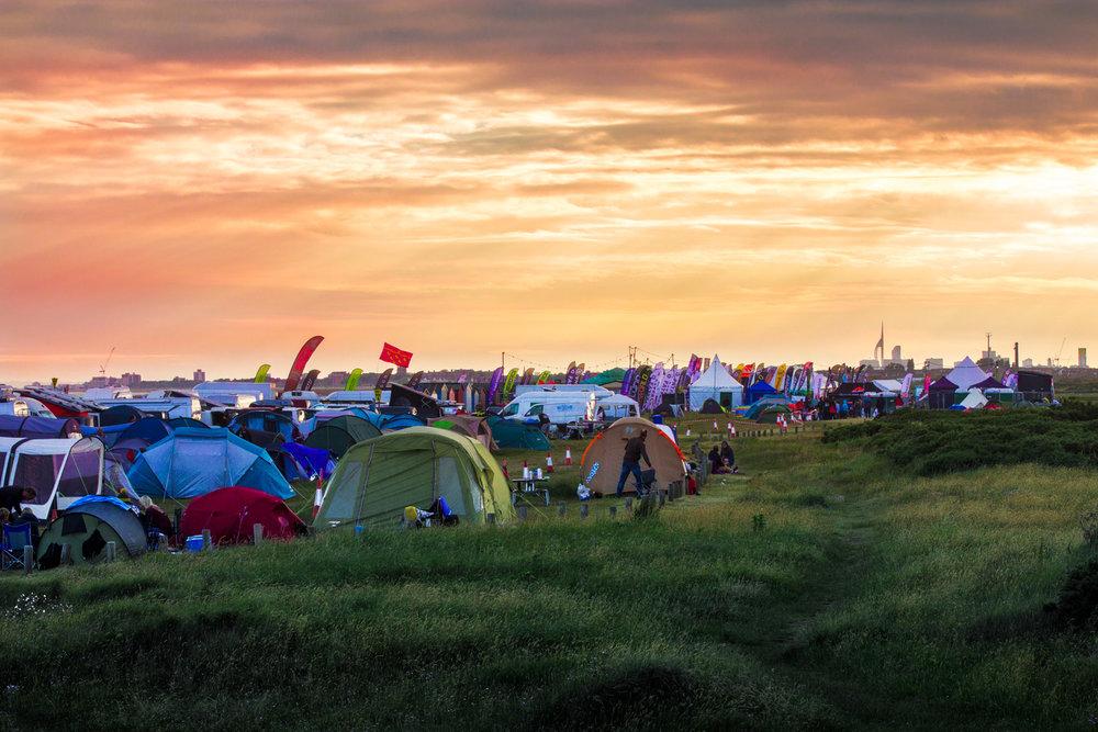 Campsite - Virgin Kitesurf Armada 2017