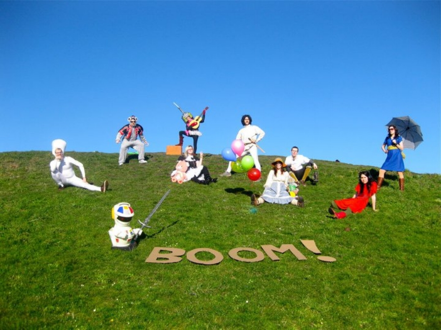 After Graduating from Cornish College of the Arts in 2010, - ellen and several of her closest collaborators created boom! theater company, a collective of artists focused on the conception, incubation, and production of new work; pushing boundaries in both content and form.