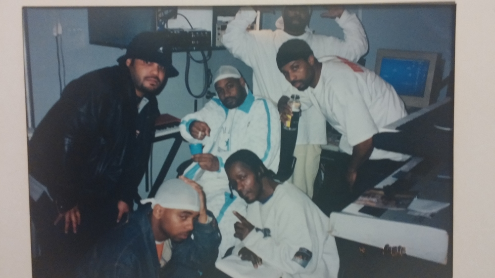 Kna-Lo Venge, Ghostface Killah, Sunz of man. Recording studio 2.jpg