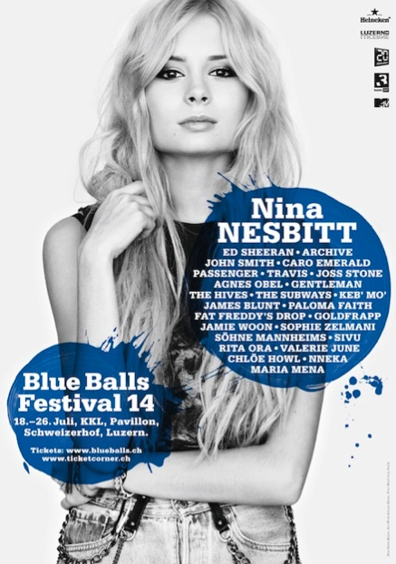 Paul Josephs plays the Blue Balls Festival, Switzerland! 7/18 @ 6:00pm