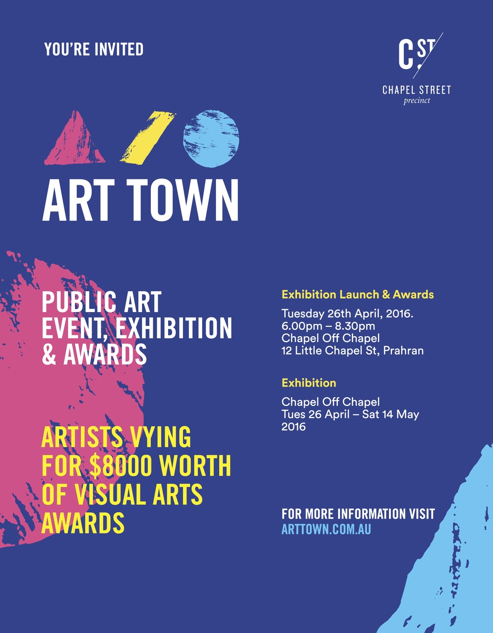 Art Town invite