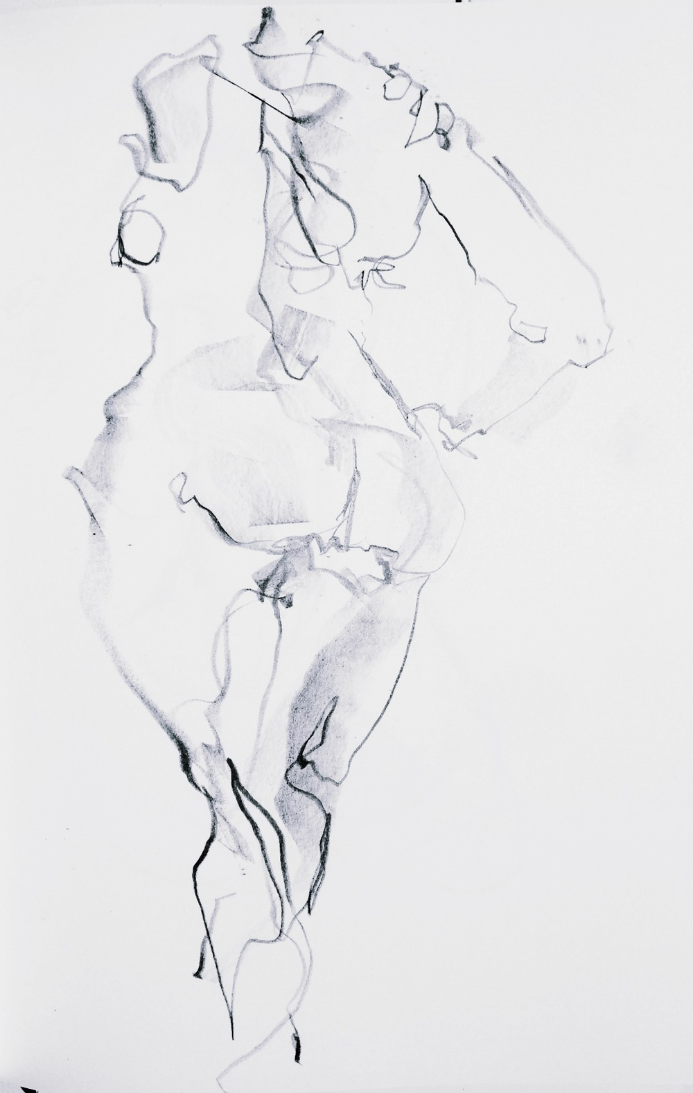 Life drawing 2min. by Tanleea