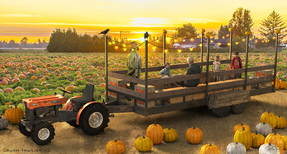 Crush Haunted Hayride