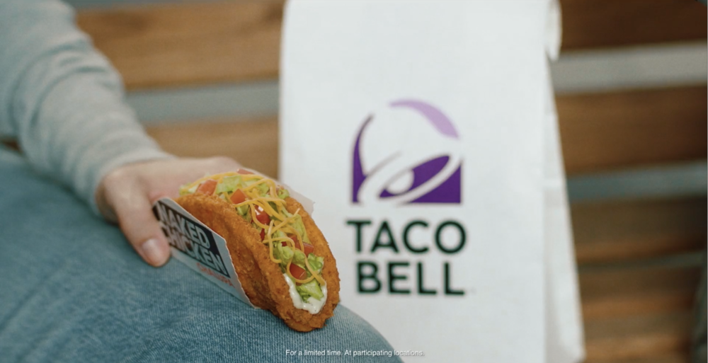 TACO BELL: NAKED CHICKEN CHALUPA  2017