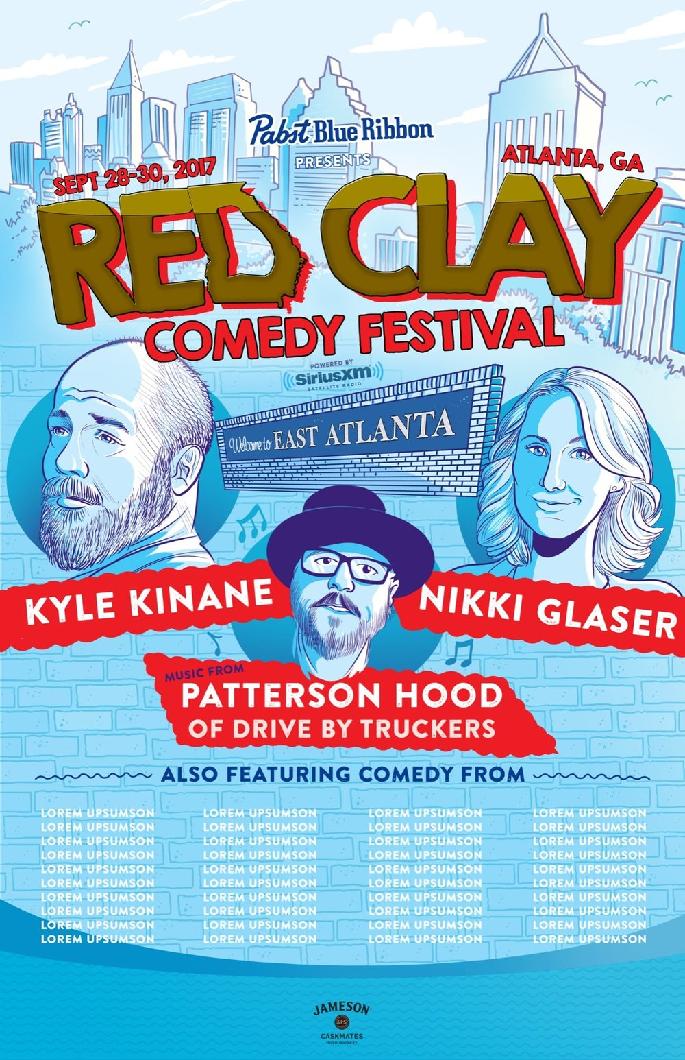 red clay comedy festival atlanta georgia