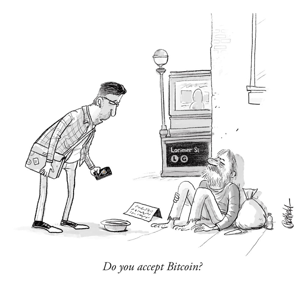 Do you accept bitcoin cartoon