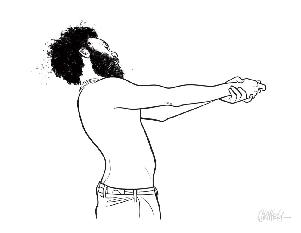 Childish Gambino Original Art from This is America