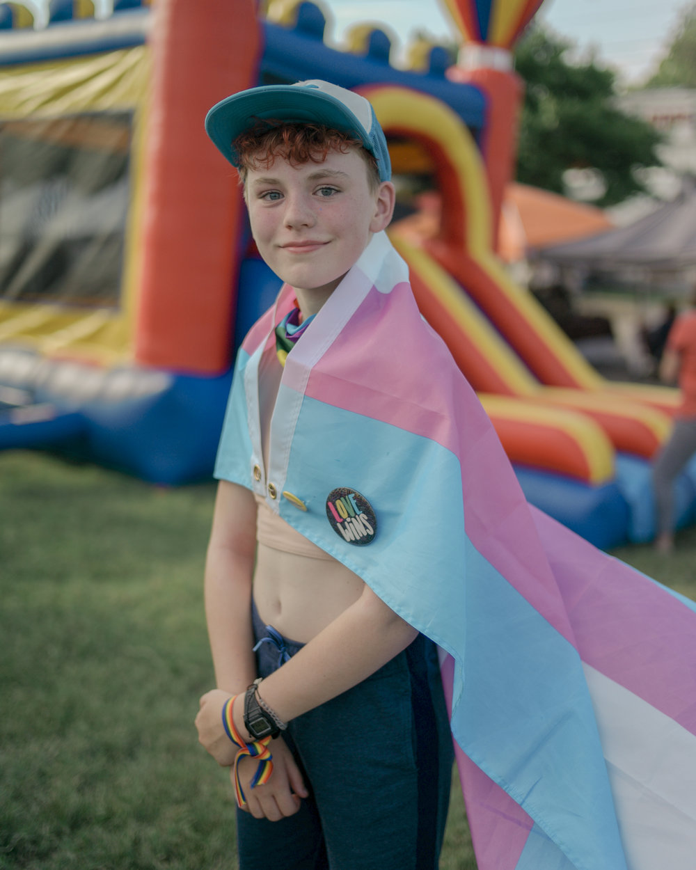 "Columbia resident Baker Thompson, 14, discovered the LGBTQ community in the theater department at West Middle School. ""It all started by talking about bisexuality and ever since I am very active in my community,"" he said. Thompson, a freshman at Hickman High School, is openly pansexual. ""Last year I gave a TED Talk about being transgender to raise awareness for the trans community. People are very ignorant of LGBTQ rights and if someone had to talk about being transgender, it had to be me."""